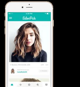 SalonPick App Home