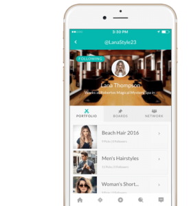 SalonPick App Stylist Profile